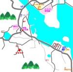 笠岡市神島東村地図